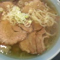 「チャーシューめん(麺カタメ) ¥830」@手打ちラーメン蔵八 鹿沼店の写真