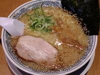 「こってりとんこつ白醤(麺かため)¥661」@丸源ラーメン 足利店の写真