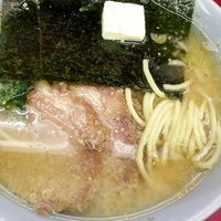 「特製味噌チャーシュー麺(硬め/普通/多め)¥920 バター¥50」@ラーメン山岡家 太田店の写真