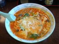「チーズとまとラーメン」@青竹手打ちラーメン 桐生宿の写真