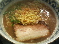 「バリしおラーメン塩味」@らー麺屋 バリバリジョニーの写真