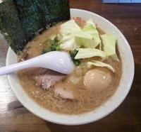 「うまいラーメン+味付たまご(700+100円)」@松福 長浜海岸店の写真