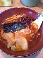 「ピリ辛醤油ラーメン¥700+替え玉¥100」@麺屋 ゆぶきの写真