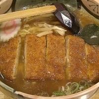 「カツらーめん(細麺)¥750」@富士山食堂の写真