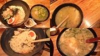 「寒鰤と根菜の塩つけ麺 ⇒ 〆に卵とじ雑炊」@麺や 庄のの写真