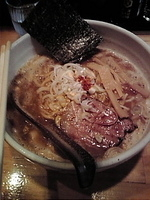 「濃厚味噌ラーメン大盛り(950円)」@○心厨房の写真