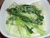 「週替わりの夏野菜の冷やしそば マスカルボーネチーズ風味(950円」@菜の写真