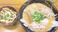 「味噌らーめん+味玉+煮豚ごはん」@らーめん 馬鹿珍の写真