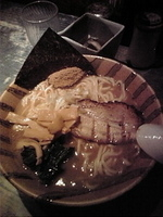 「ラーメン(昼限定) 700円+大盛り100円」@麺屋こうじの写真