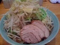 「えぼし麺・ヤサイマシ(600円)」@えぼし麺 菜良の写真
