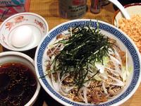 「肉盛つけ蕎麦(大盛)@880円」@馳走麺 狸穴の写真