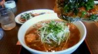 「ロースカツカレーらあめん¥820+テリヤキマヨ餃子¥480」@らーめん 一陣の写真