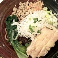 「伝統汁無し坦々麺 800円」@讃岐流坦々麺と大宝寺カレーの専門店 北斗辛軒の写真