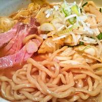 「野菜味噌らーめん+大盛・¥850(3月22日限定)」@○心厨房の写真