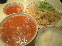 「【月曜限定】麻醤麺(850円)+特盛(120円)+定食(170円」@蒙古タンメン 中本 目黒店の写真
