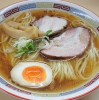 「煮干らーめん(680円)」@煮干鰮らーめん 圓の写真