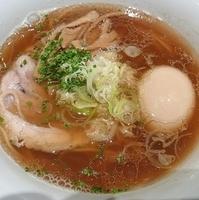 「正油らぁ麺(味付煮玉子トッピング)」@MIST 表参道ヒルズ店の写真
