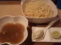 「【限定】秋茸と秋刀魚節仕立てのつけめん 二種のチーズと発酵バター」@菜の写真