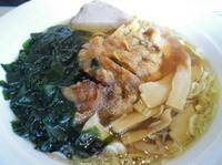 「赤城(パイコー麺)750円+小チャーハン320円=1,070円」@ラーメン ロッジの写真