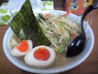「野菜ラーメン+味玉子(700円+30円)」@ラーメン金太郎の写真