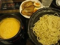 「チーズフォンデュつけ麺 全部のせ(同額大盛)」@とんこつらぁめん 宗庵 水道橋店の写真