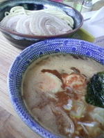 「特製つけ麺(並)」@中華蕎麦 サンジの写真