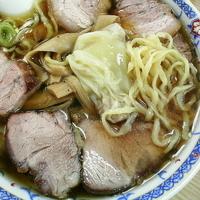 「チャーシューメン(麺硬め)¥830 ワンタン¥140」@もん亭の写真