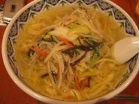 「野菜ラーメン刀切麺780円(200円引き580円)」@中国ラーメン 揚州商人 流山店の写真