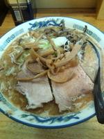 「味噌豚骨 大盛(900円)」@パワー軒の写真