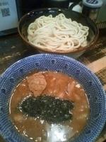 「つけ麺 中盛り 魚粉多め」@狼煙 〜NOROSHI〜の写真