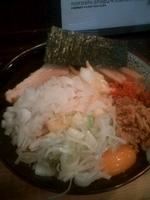 「まぜそば 大盛り チーズ」@狼煙 〜NOROSHI〜の写真