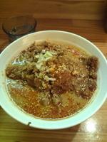 「排骨担々麺・・・980円」@かつぎやの写真