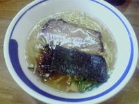 「塩らーめん(麺硬め)」@らーめん うさぎやの写真