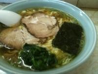 「塩ラーメン中盛(太麺)620円」@支那そば屋 龍(Ron)の写真