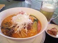 「坦々麺」@隨縁軽井沢ナインハンドレッド倶楽部の写真