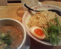 「鶏濃厚つけ麺(並)240g」@はなふくの写真