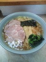 「塩ラーメン大盛 細麺(690円)」@支那そば屋 龍(Ron)の写真