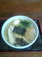 「中華そば 塩 細麺 中盛(850円)」@喜奴屋の写真