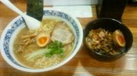 「和風塩ラーメン¥700+ミニ三色丼¥300」@和風らーめん 大家の写真