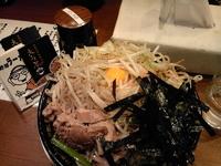 「野郎ラーメン 680円」@野郎ラーメン 海浜幕張店の写真