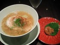 「梅塩らぁ麺」@MIST 表参道ヒルズ店の写真