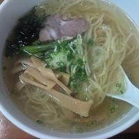 「清湯塩ラーメン 720円」@麺屋竜馬の写真