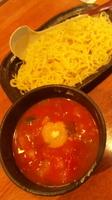 「トマトつけ麺」@らーめん むつみ屋 東松山支店の写真
