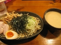 「味噌つけ麺750円(ぱどクーポンで650円)」@らーめん やぶ家の写真