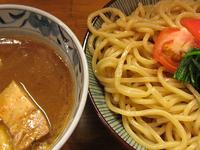 「濃厚つけ麺(大盛り)@780」@麺屋 蕃茄の写真