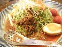 「冷し坦々麺 「829円」」@ラーメンめん商人 岩井店の写真