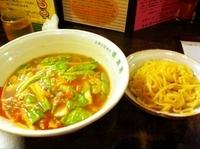 「とまとつけ麺 <夜限定>」@とまとの里 信濃路 阿波座店の写真