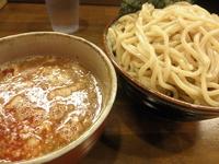 「辛つけ麺+大盛(440g) 「830円」」@蝉時雨の写真