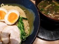 「〇得つけ麺(大)」@龍旗信 大阪津久野店の写真