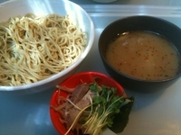 「イツワつけ麺(300g・太麺)730円」@イツワ製麺所食堂の写真